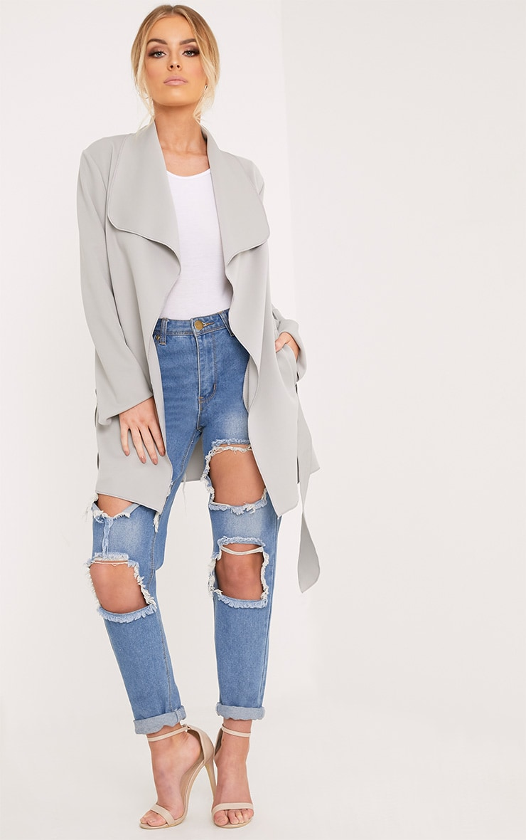 Lyla Grey Scuba Waterfall Jacket 4