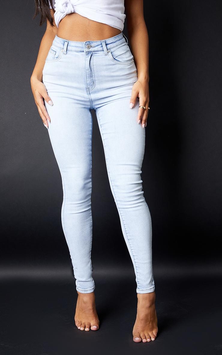 PRETTYLITTLETHING - Jean skinny javelisé à 5 poches 2