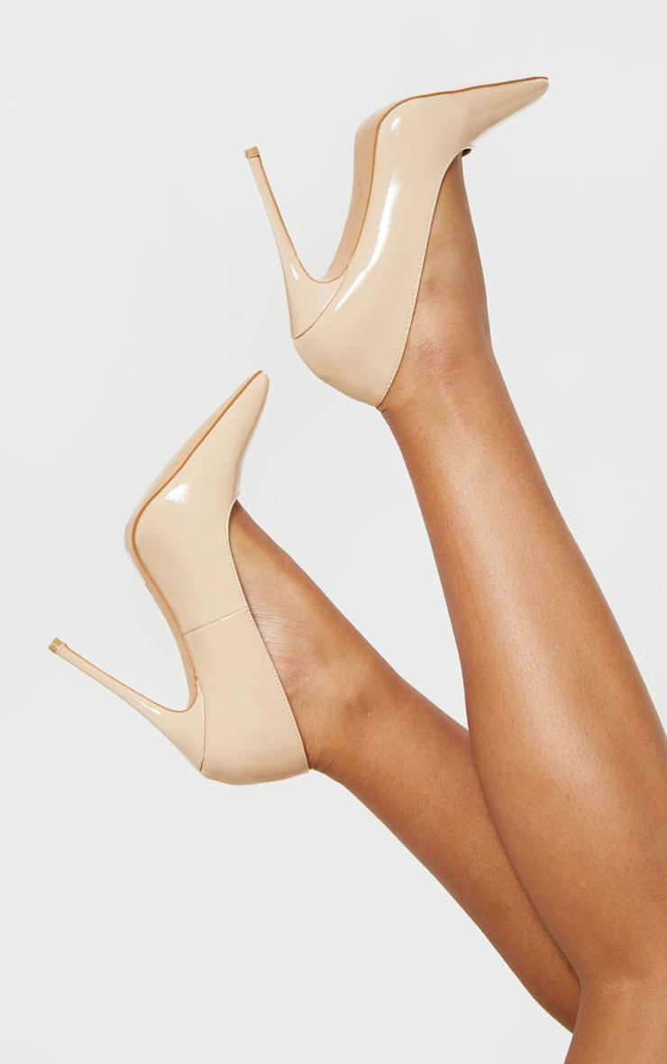 Pale Nude Court Shoe 1