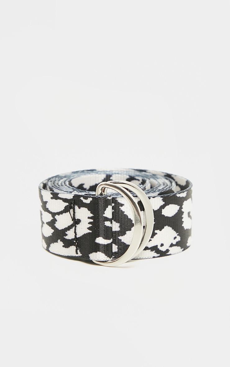 Mono Leopard Tape Belt  2
