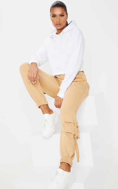 Biscuit Cargo Detail Casual Joggers