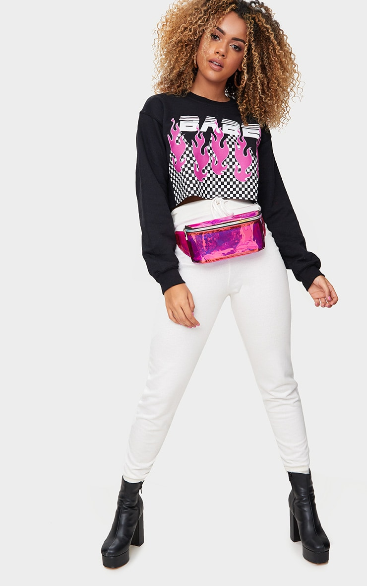 Pink Holographic Bum Bag 2