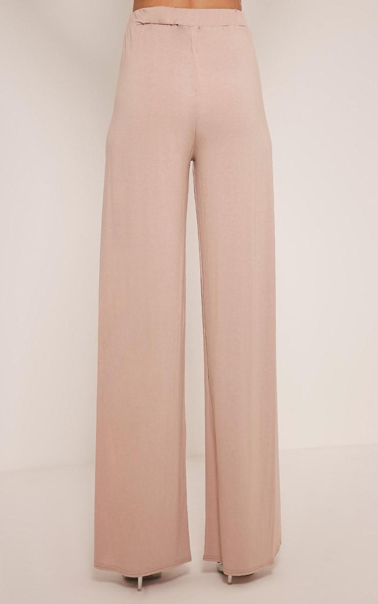Mona Stone Split Jersey Trousers 5