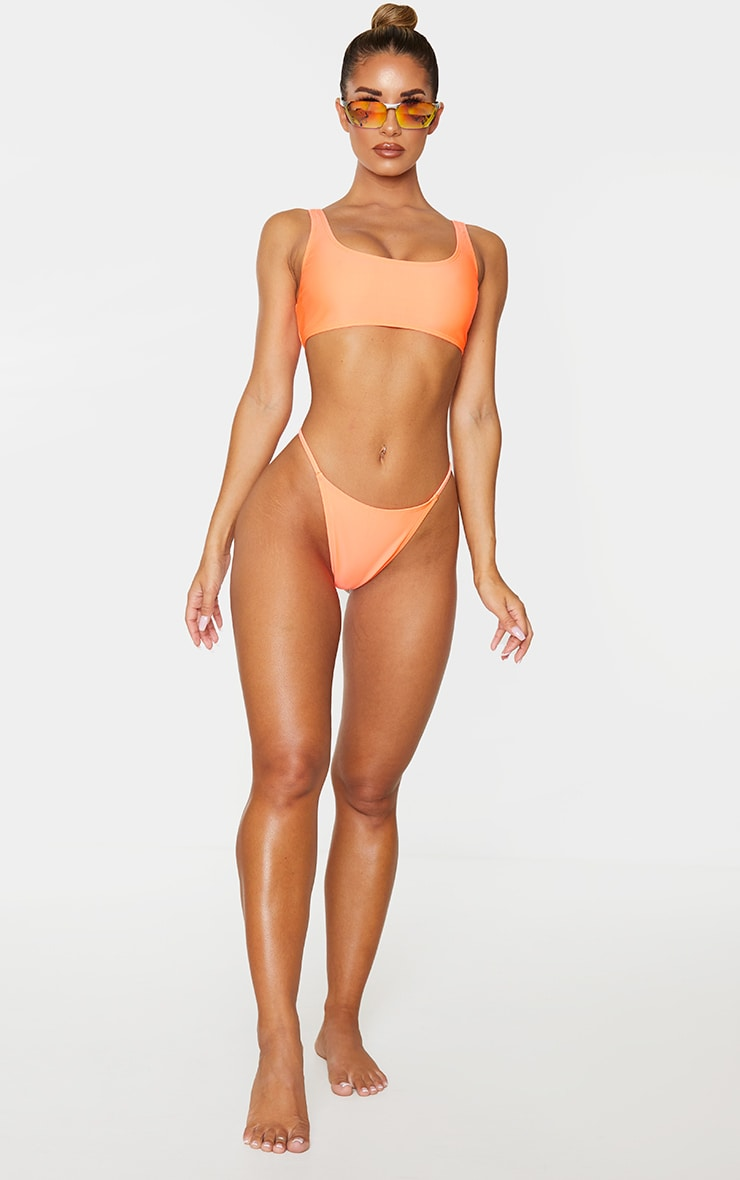 Coral Mix & Match Itsy Bitsy Bikini Bottom 4