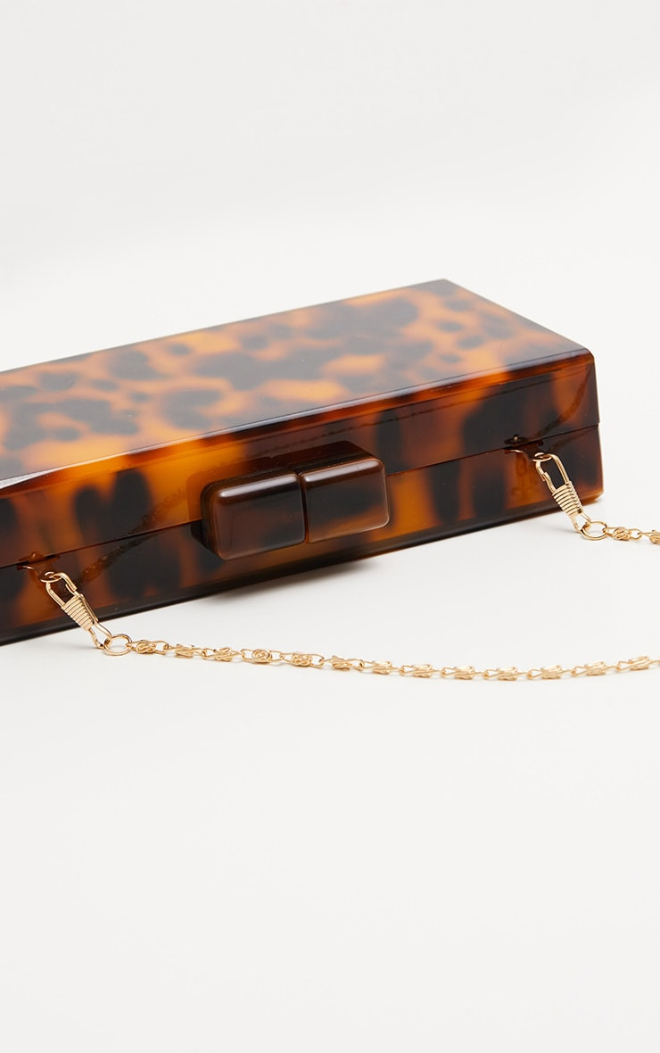 Tortoiseshell Resin Clutch 3