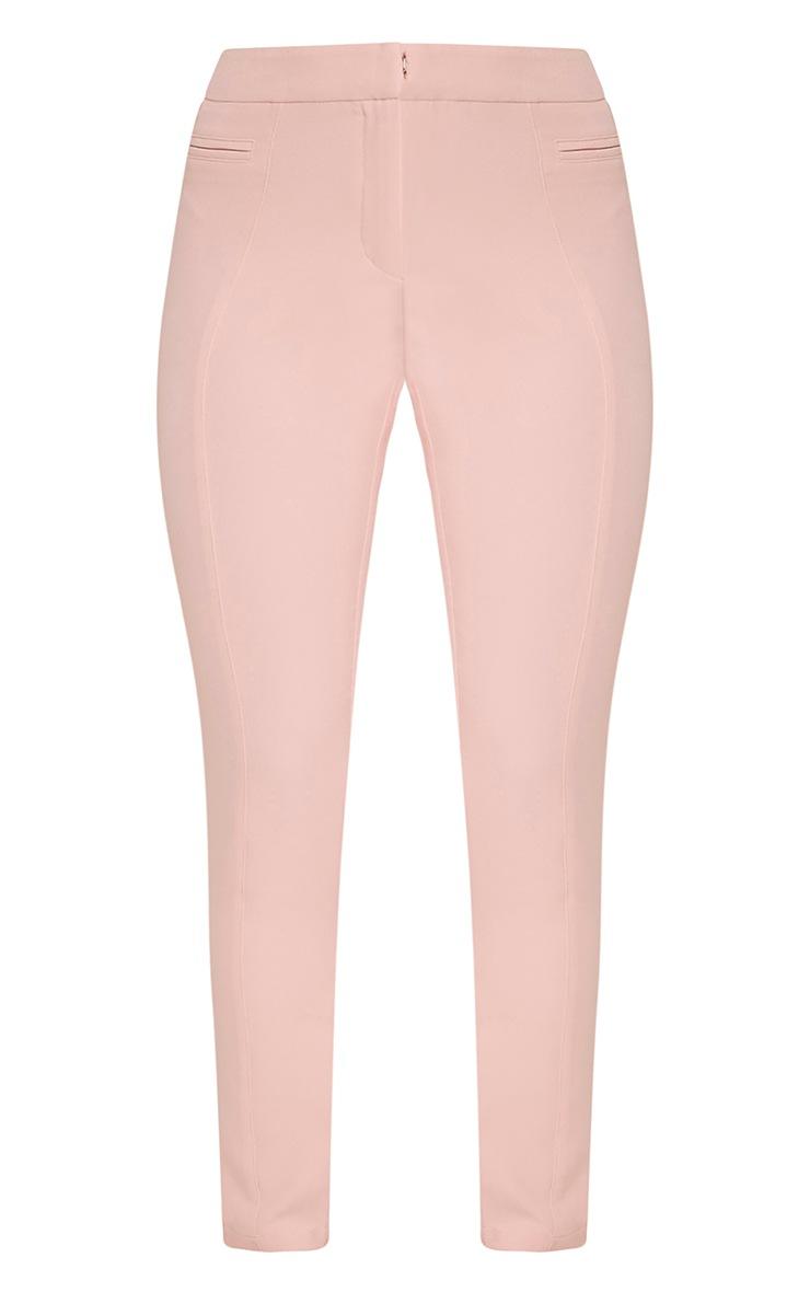 Avani pantalon de tailleur rose 3