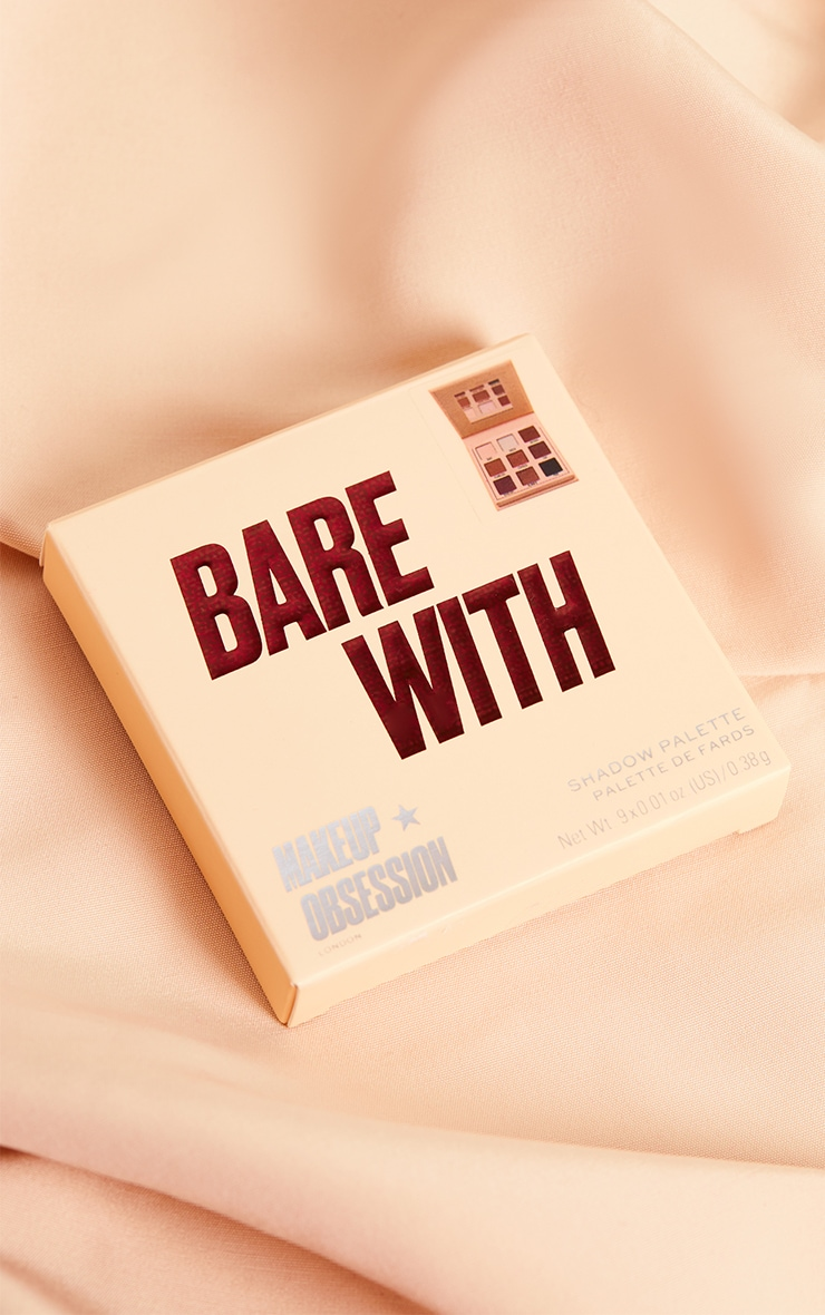 Makeup Obsession Bare With Shadow Palette 2