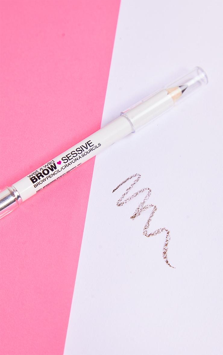 Wet N Wild Brow-Sessive Brow Pencil Medium Brown 2