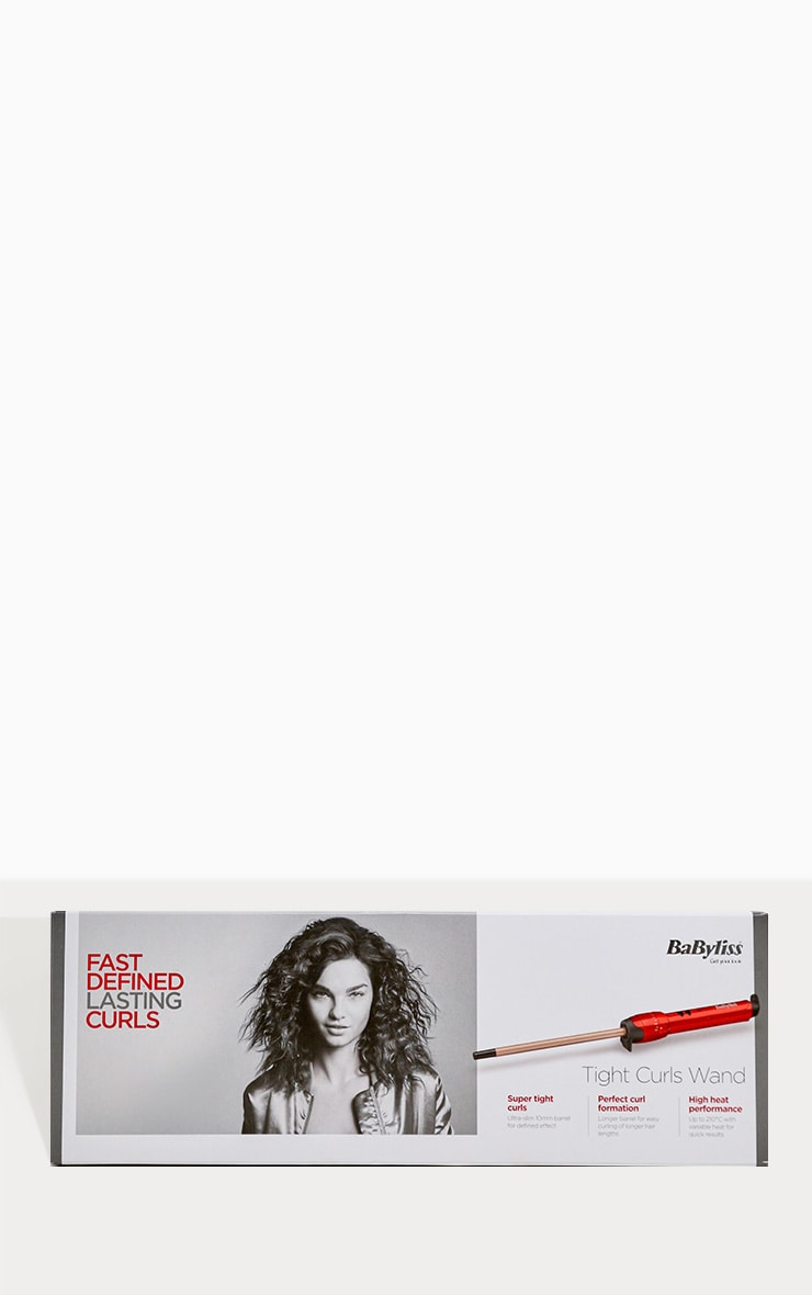 BaByliss Tight Curls Hair Wand 4