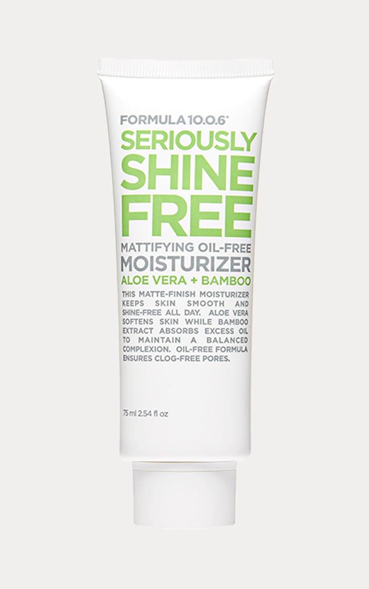 Formula 10.0.6  Seriously Shine Free Moisturiser 1