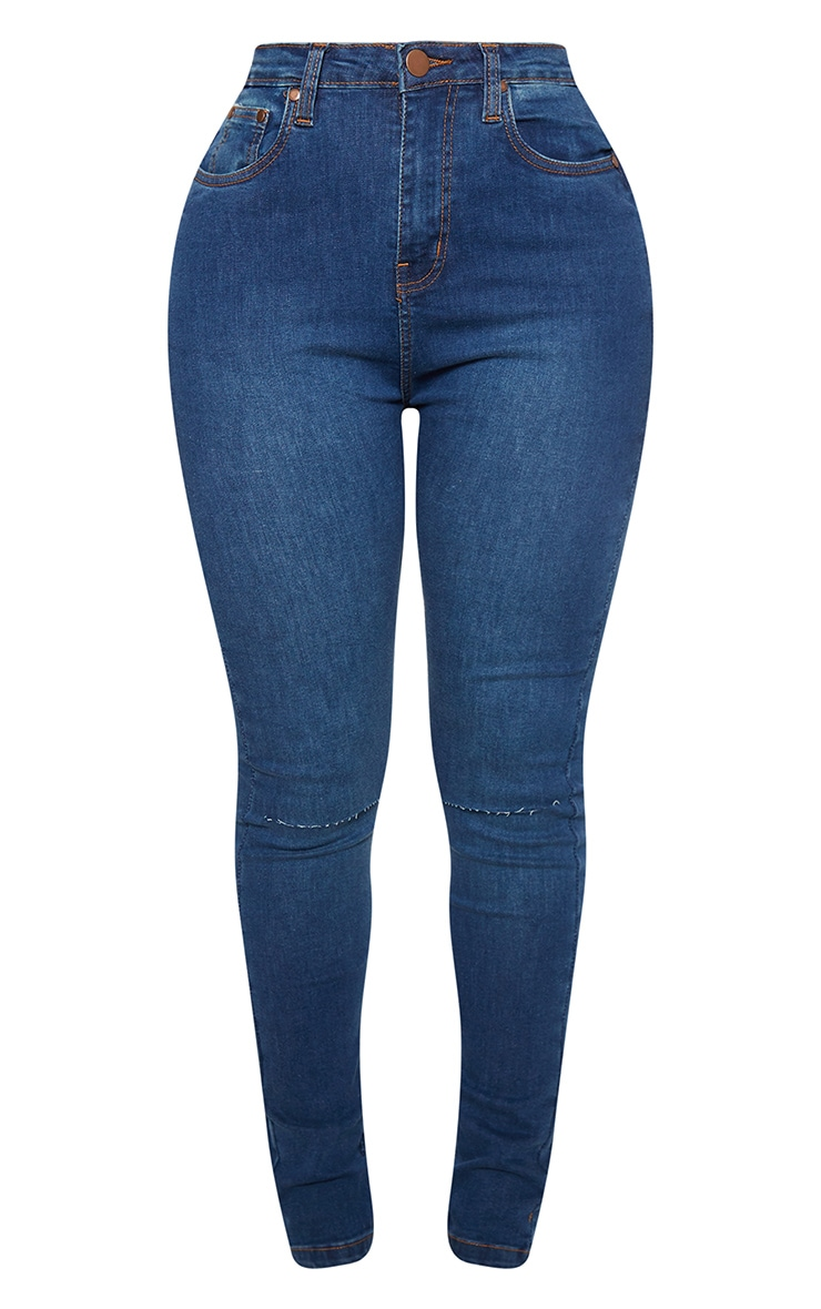Shape Mid Wash Knee Rip Boyfriend Jean 4