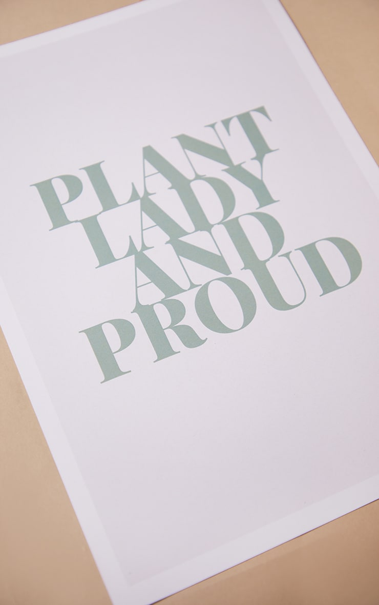Plant Lady A4 Recycled Peechy Print 3