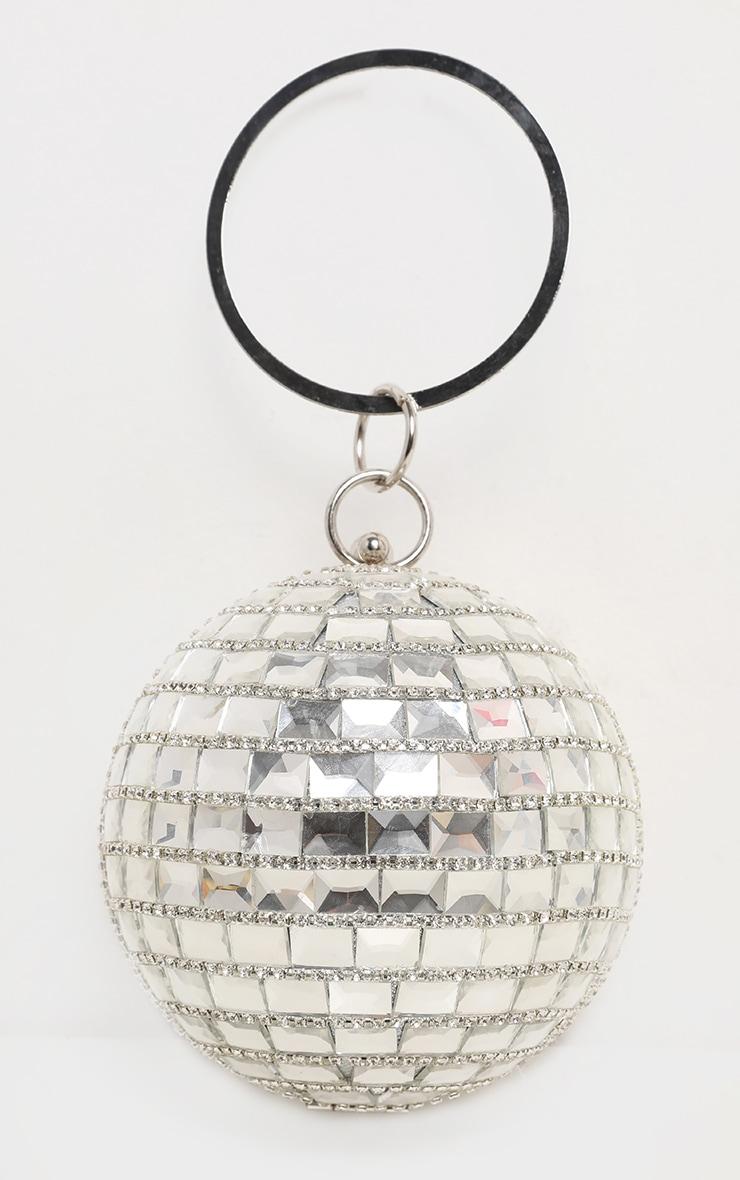 Silver Gemstone Sphere Bag 3