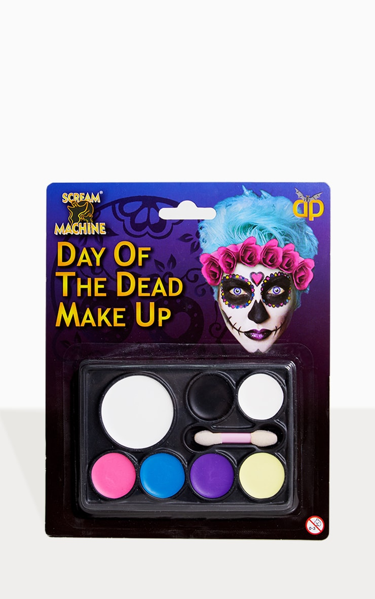 Halloween Day Of The Dead Multi Pallete Makeup 1