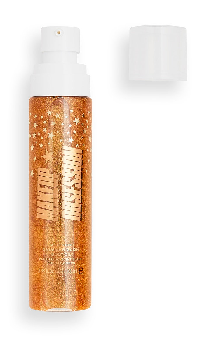 Makeup Obsession Shimmer Glow Body Oil Golden Girl 2