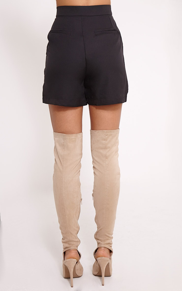Patricia Black Loose Fit Tailored Shorts 4