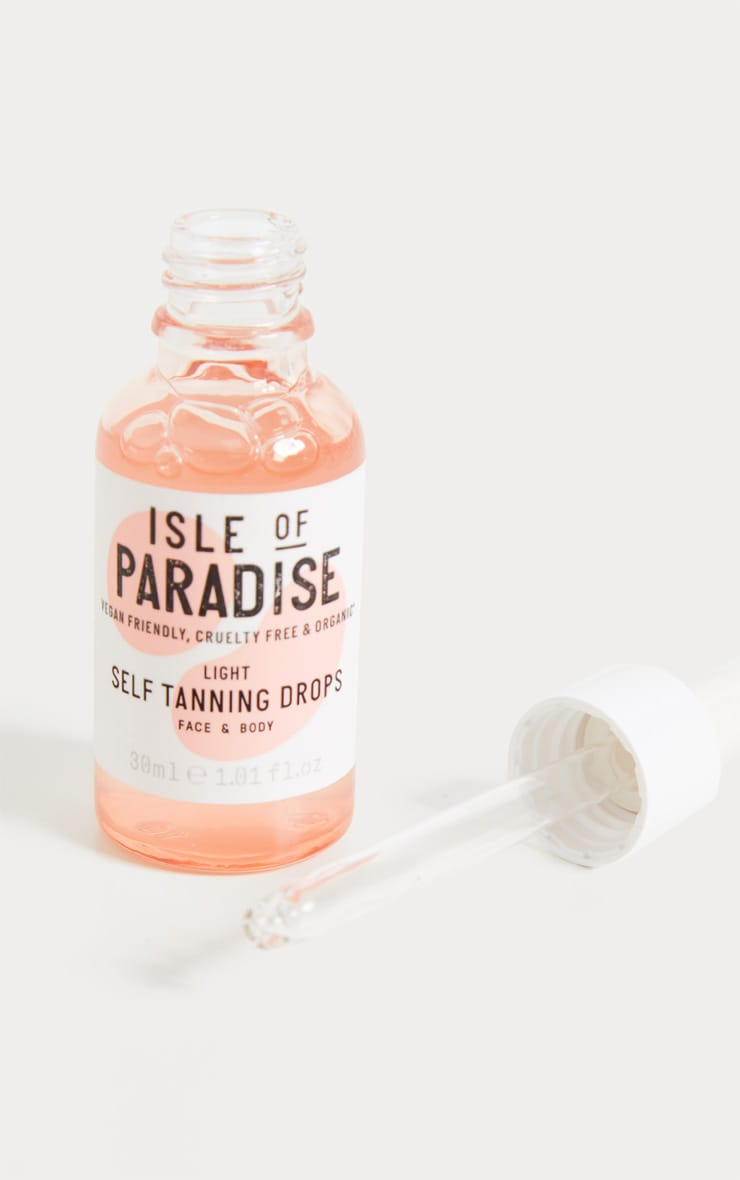 Isle of Paradise - Autobronzant en gouttes Light 2