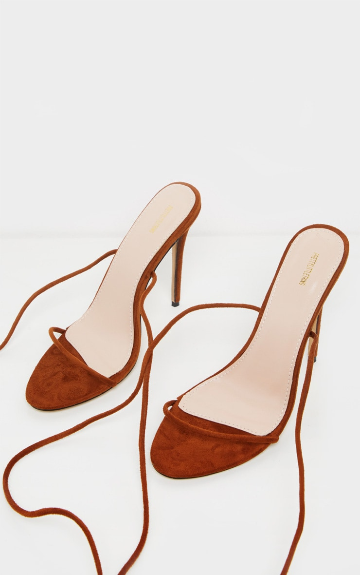 Chocolate Strappy Sandal 3