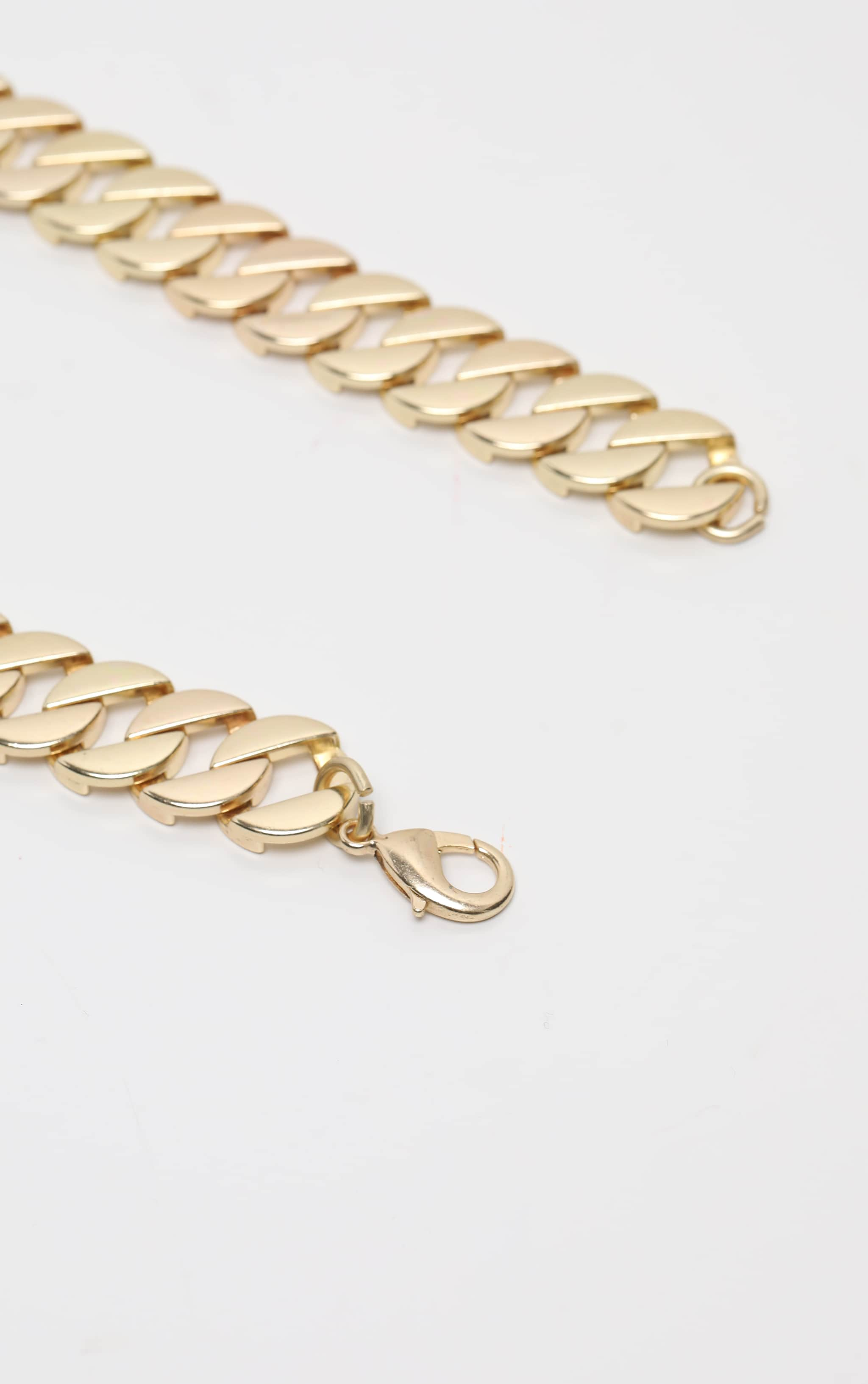 Gold Chain Chunky Necklace 4