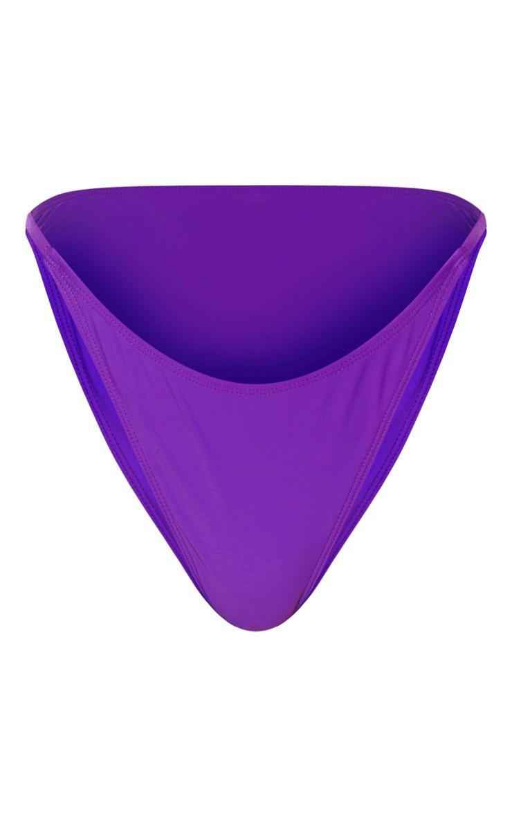 Purple Tanga Bikini Bottom 7