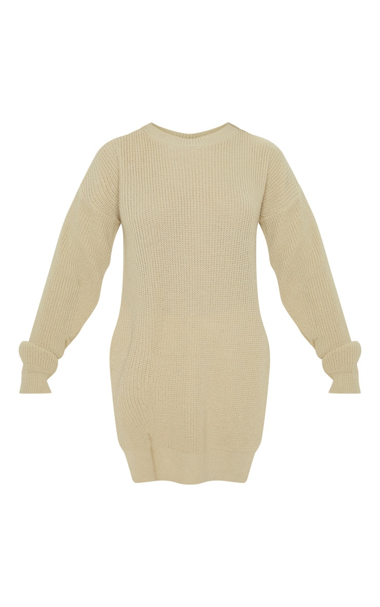 Rexx Stone Round Neck Side Split Jumper 3