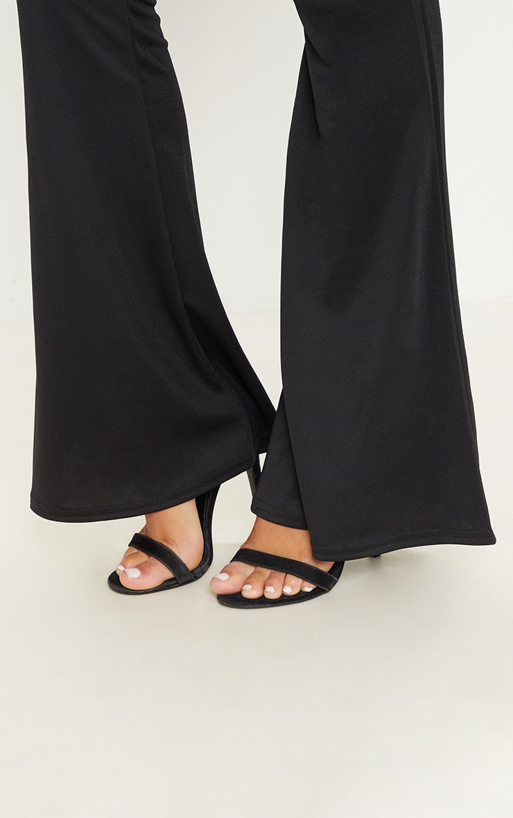Black Ultimate Flared Trousers 5