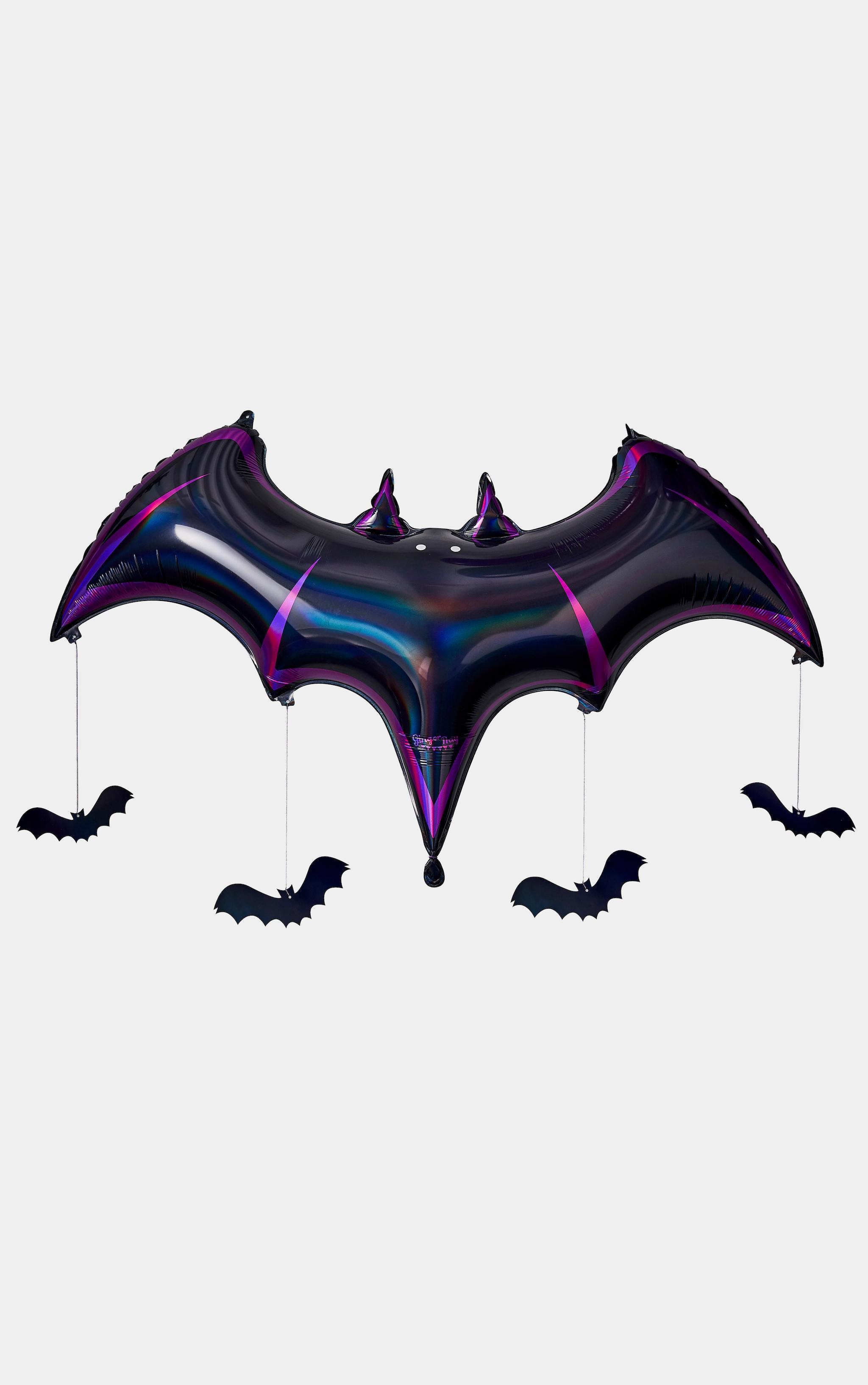 Ginger Ray Foil Balloon Bat Shaped Balloons 2