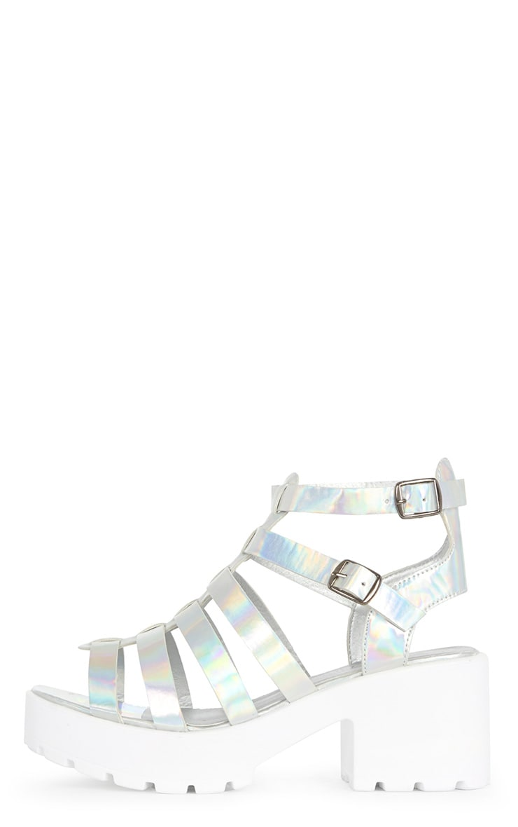 Hanna Metallic Cleated Gladiator Sandal  1