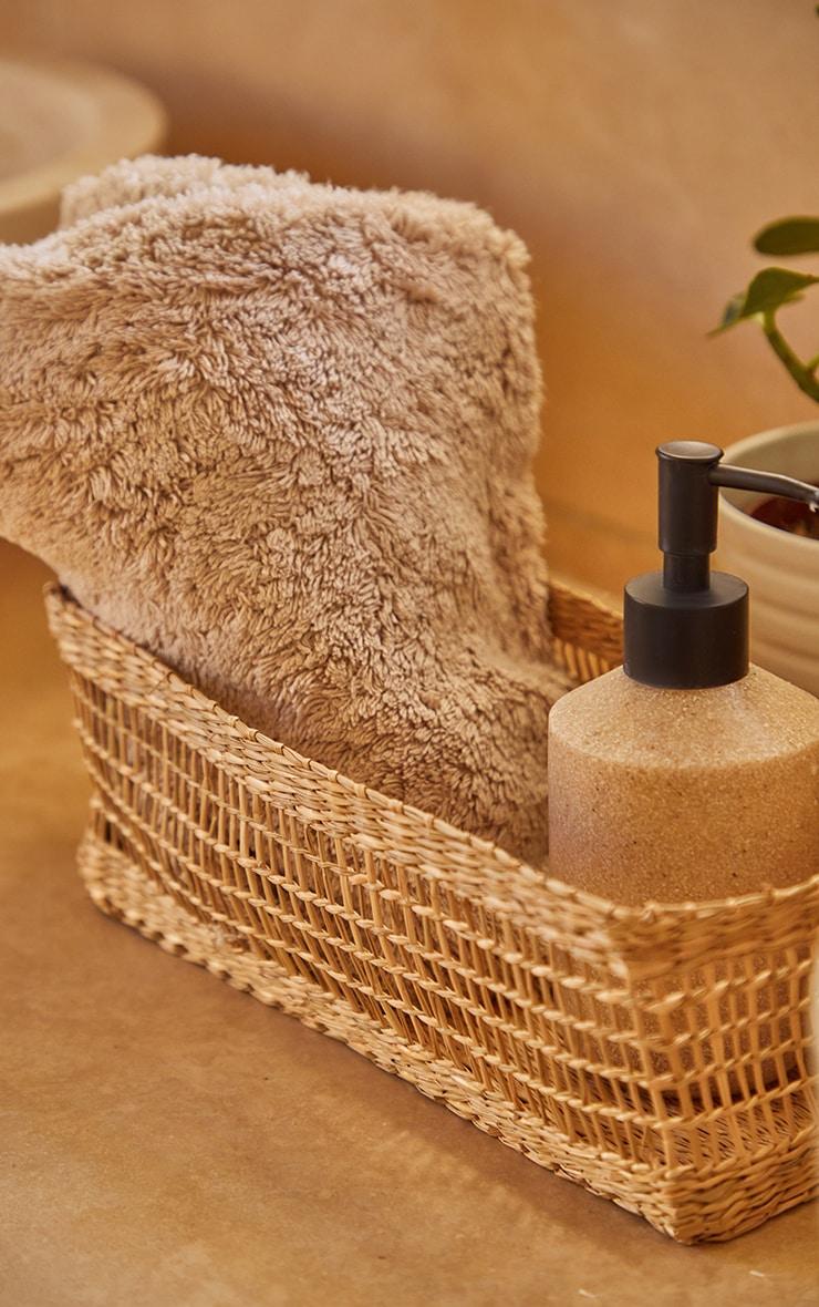 Seagrass Rectangular Basket 1
