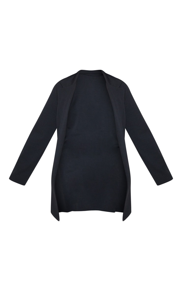 Plus Black Longline Blazer 4