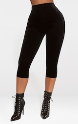 be774511cf6c67 ... PrettyLittleThing Read more I agree. Previous. Shape Black Cropped  Velvet Leggings image 2