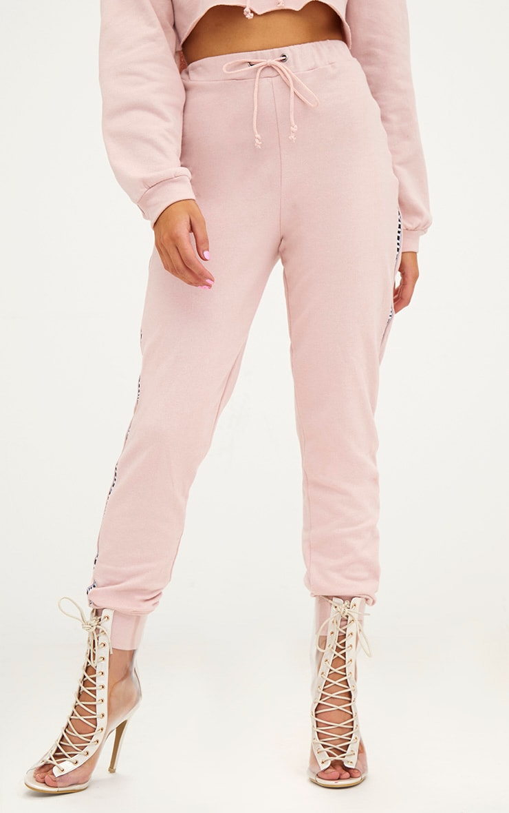 PRETTYLITTLETHING Petite Rose Joggers 2