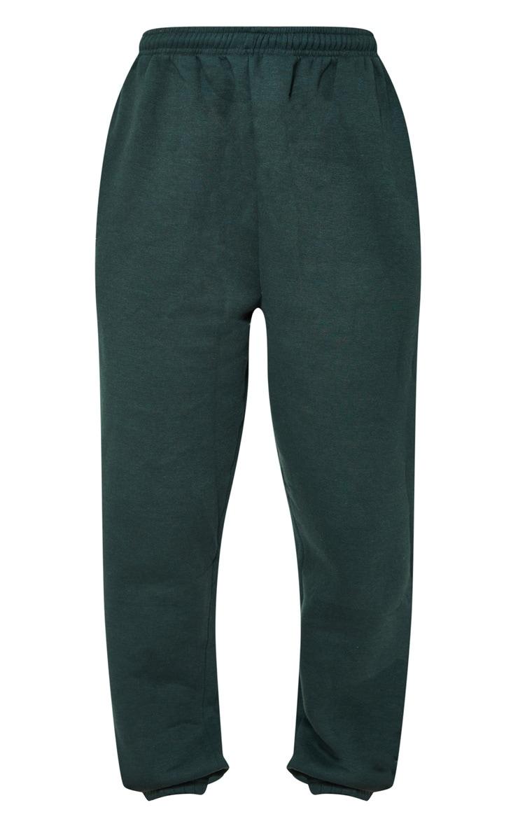 Emerald Green Sweat Pant Joggers 5