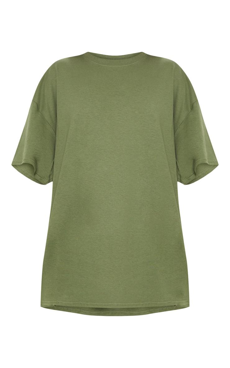 Khaki Oversized Boyfriend TShirt 3