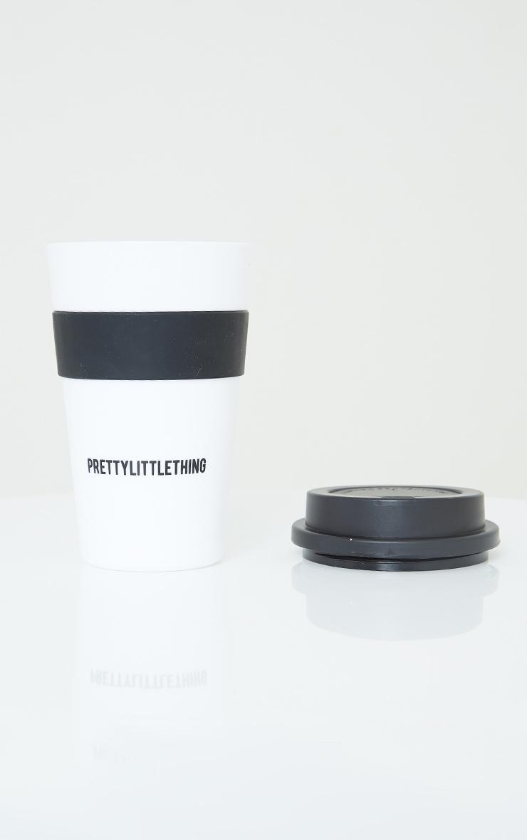 PRETTYLITTLETHING White Coffee Mug 1