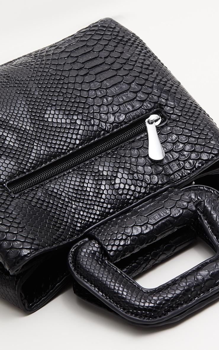 Black Snake Mini Bag 3