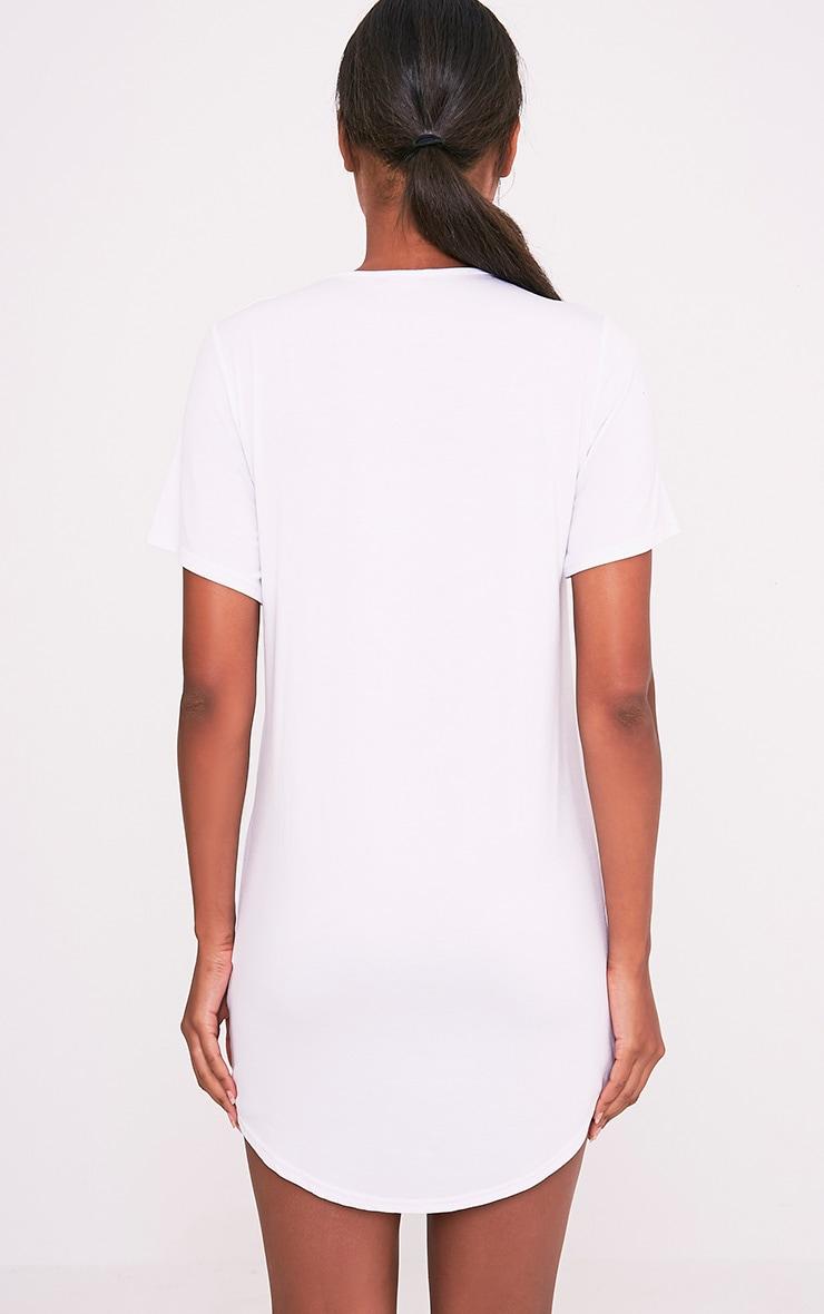 I Love My Duvet White Oversized Nightshirt 2