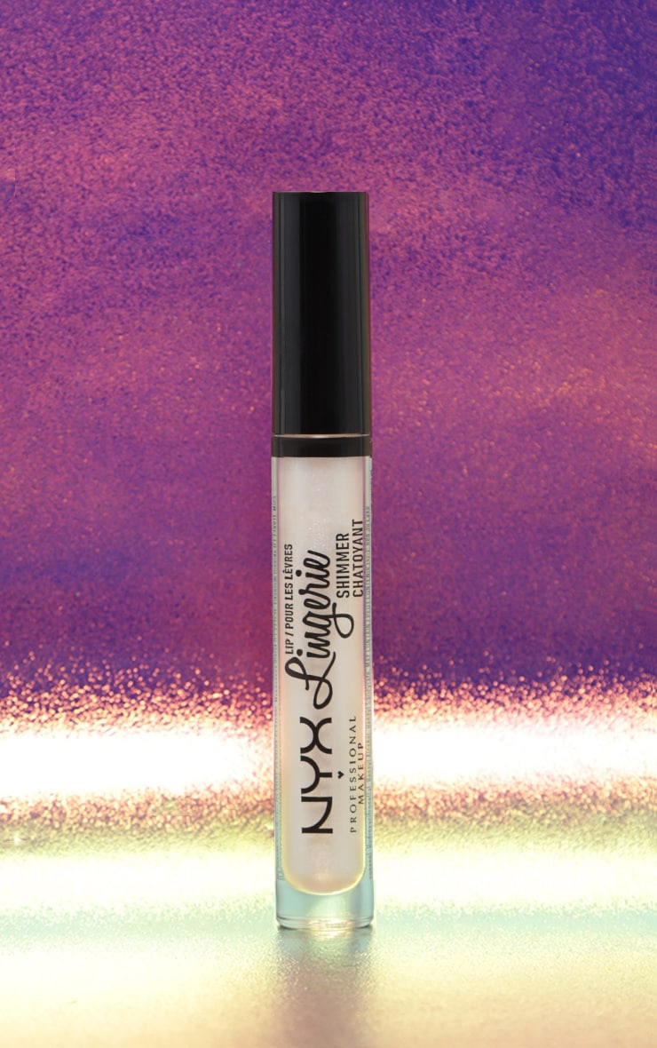 NYX Professional Makeup Lip Lingerie Shimmer Clear 2