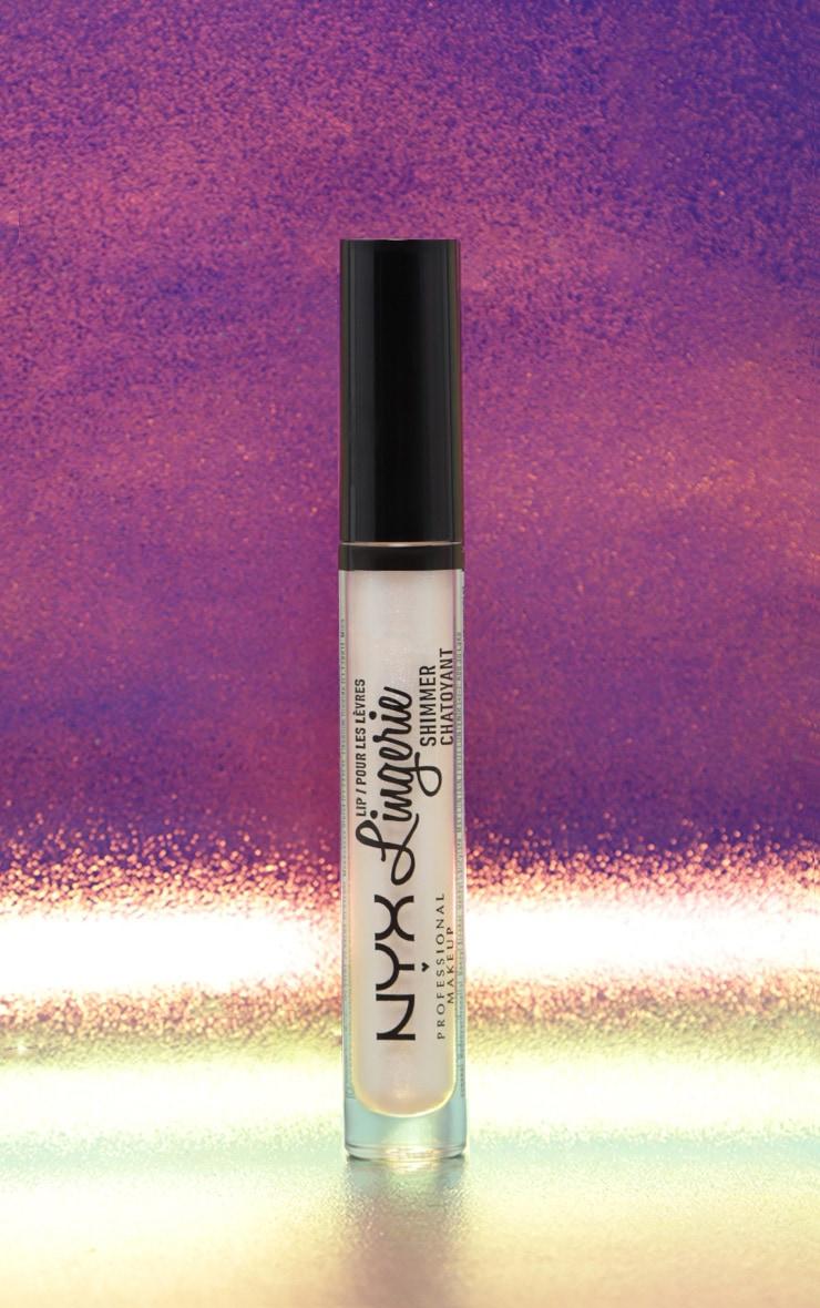 NYX PMU  - Rouge à lèvres irisé Lip Lingerie - Clear 2