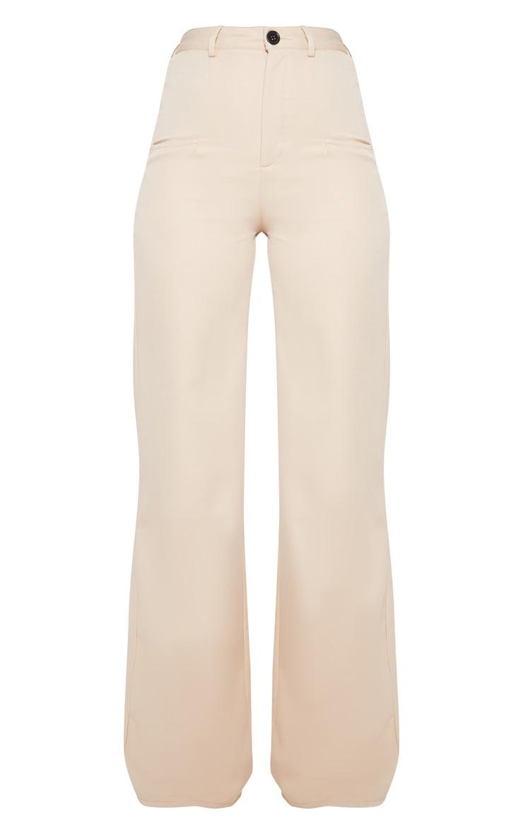 Tall - Pantalon ample gris pierre à poches 3