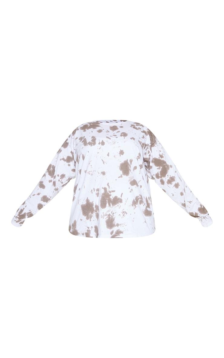 Plus Chocolate Tie Dye Tokyo Long Sleeve T-Shirt 5
