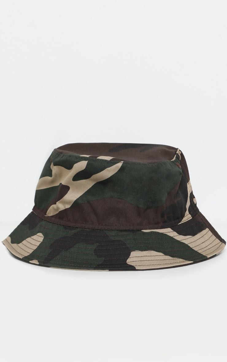 Khaki Camo Bucket Hat 2
