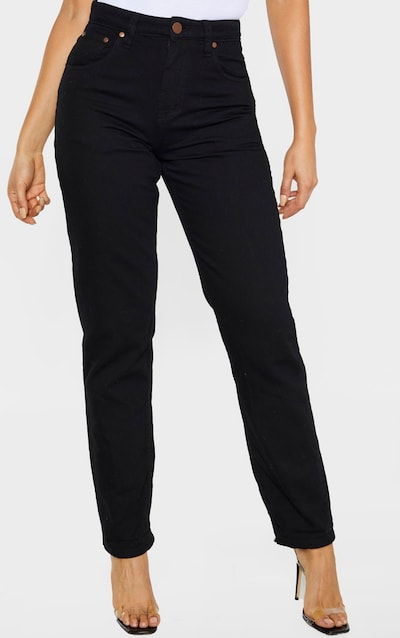 Tall Black Slim Mom Jean