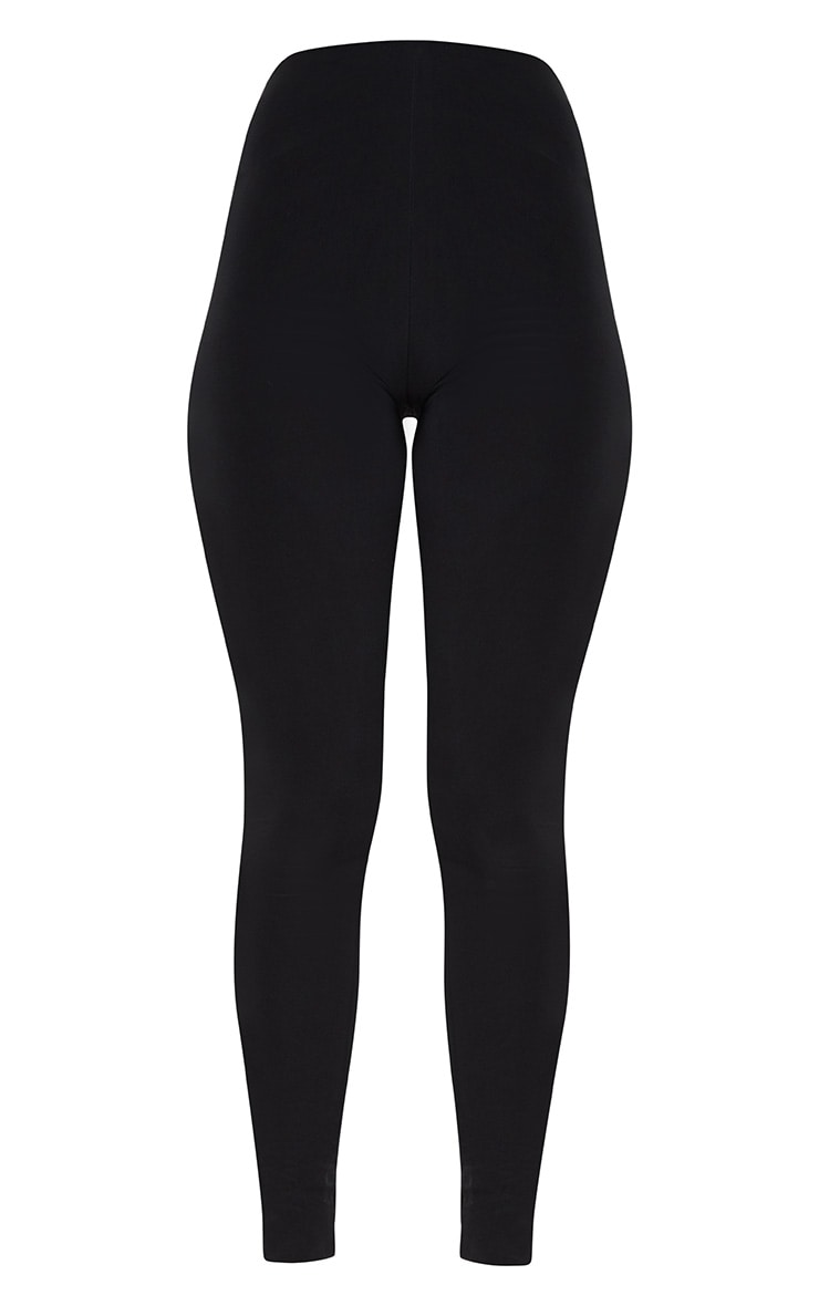 Black Second Skin Slinky Legging 3
