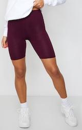 Maroon Basic Cycle Shorts 2