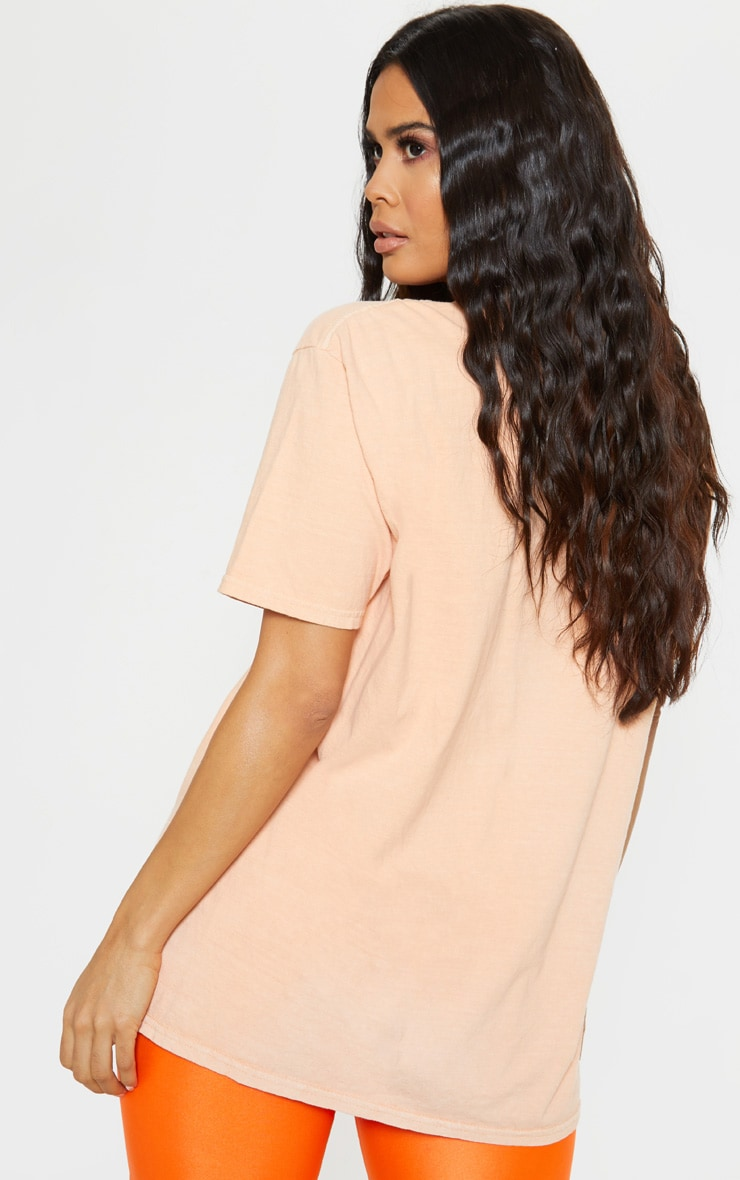 Ultimate Peach Oversized T Shirt 2