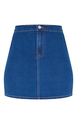 Mid Wash Disco Fit Skirt 6