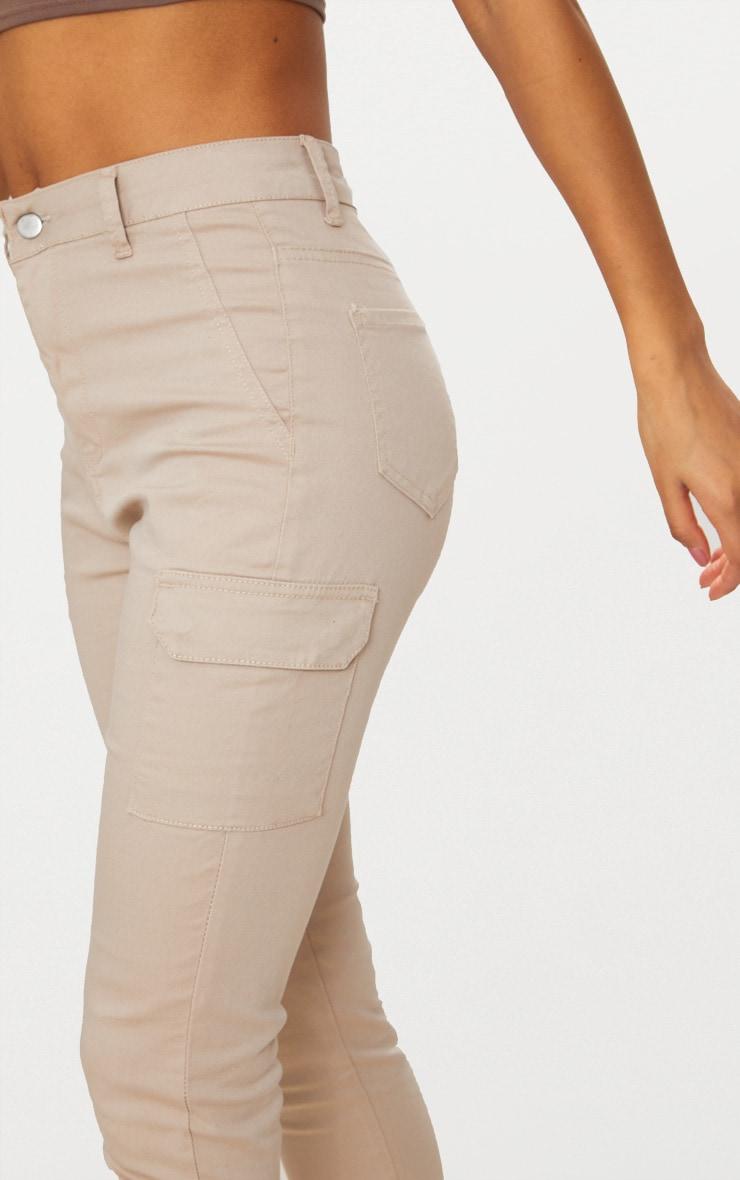 Stone Pocket Detail Utility Skinny Jean 4