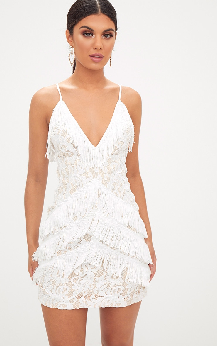 Off White Lace Dresses