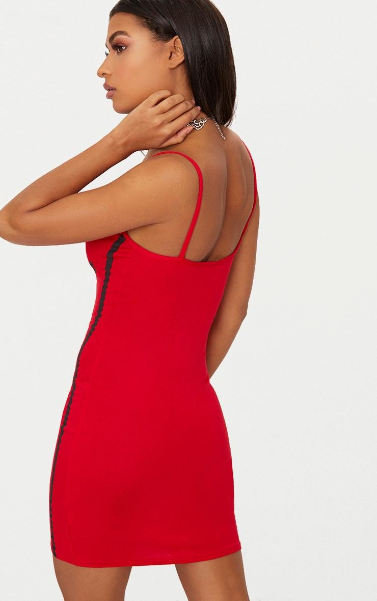 Red Nasty Bodycon Dress 2